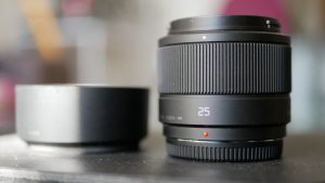Panasonic 25mm F1.7 Lens How to