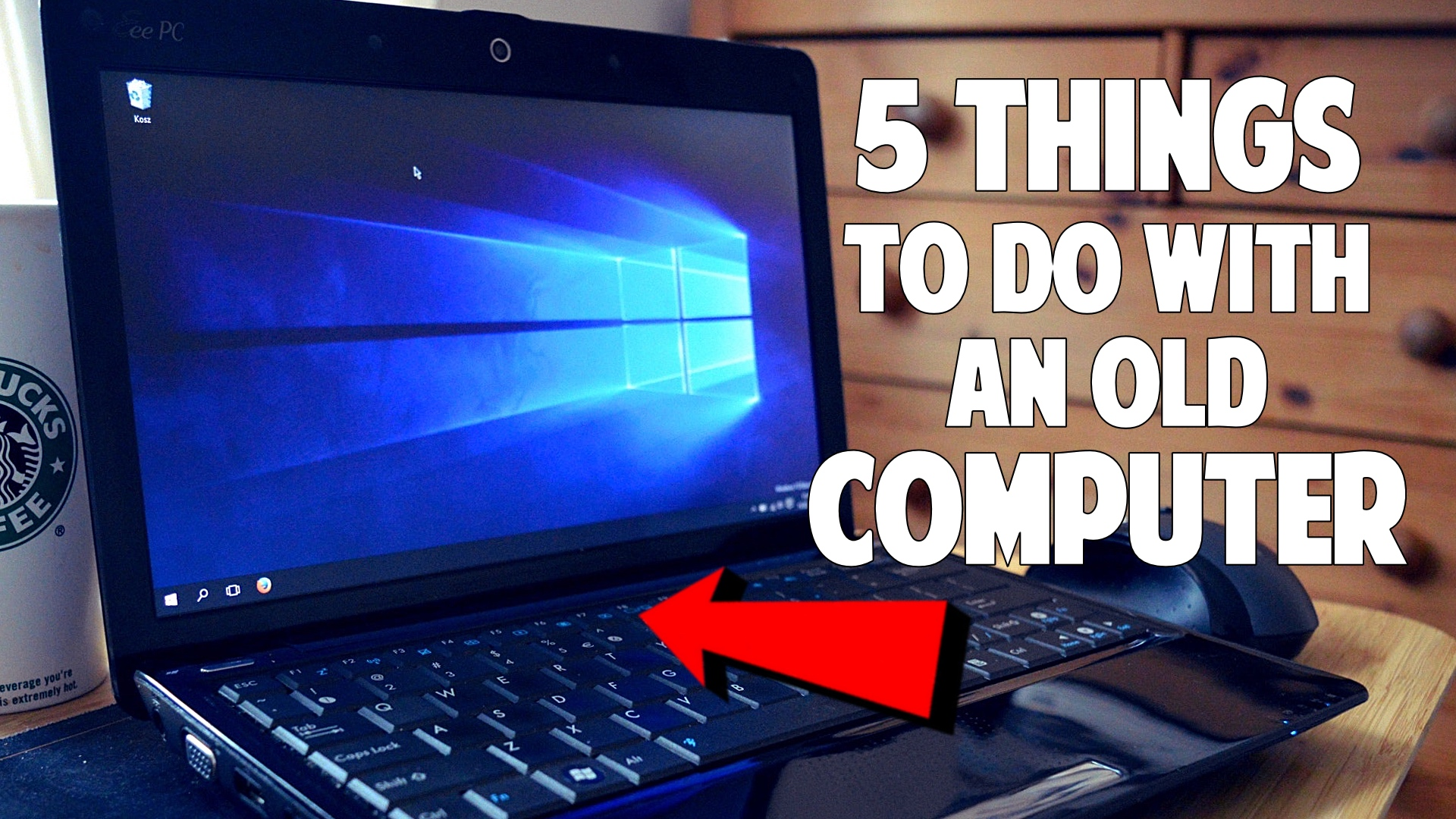 5 things to do with an old computer