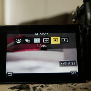 1-Area Autofocus Mode