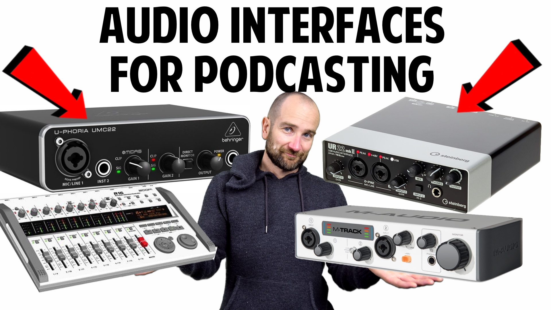 Audio Interfaces for Podcasting